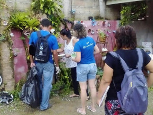 Combate ao mosquito transmissor da dengue, zika e chikungunya chega ao Sesmaria