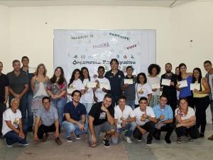 União e compromisso marcam posse de integrantes do Orçamento Participativo Jovem