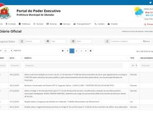 Prefeitura lança Diário Oficial Eletrônico de Ubatuba