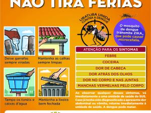 Vigilância em Saúde faz operação pré-Carnaval contra o mosquito da dengue