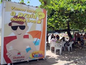 Prefeitura realiza ação nas praias de combate ao mosquito da dengue