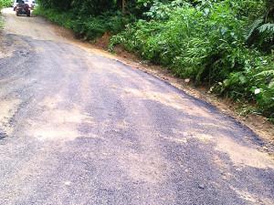 Prefeitura executa melhorias na Estrada do Monte Valério