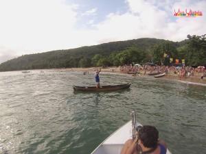 Festa de São Sebastião reúne comunidade caiçara na praia Grande do Bonete