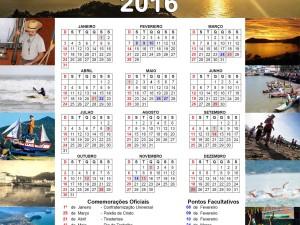 Calendário Municipal de 2016