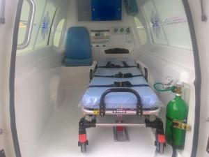Início da operação de novas ambulâncias amplia o transporte de pacientes