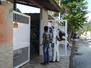 Mutirões contra o Aedes aegypti em Ubatuba continuam no sábado de Páscoa e em abril