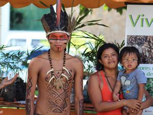 Confira a galeria de fotos do Dia da Tradição Indígena