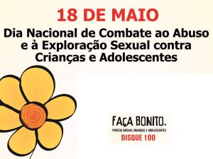 Conselho dos Direitos da Criança promove ação de combate à violência sexual