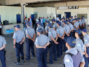 Cerimônia comemora 21 anos da Guarda Civil Municipal de Ubatuba