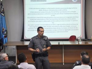 Guarda Civil de Ubatuba participa de evento de integração com a Polícia Militar