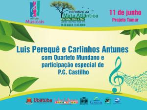 Festival da Mata Atlântica termina sábado com show de Luís Perequê