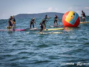 Condições desafiadoras marcam Super Sup Brasil na praia do Sapê