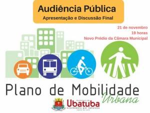 Plano de Mobilidade Urbana de Ubatuba tem sua última Audiência Pública