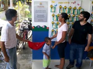Prefeito Mauricio inaugura creche no Vale do Sol, em Ubatuba