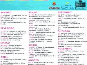 Calendário Turístico de 2017