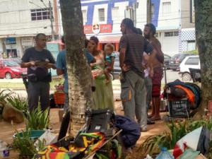 Prefeitura realiza abordagem junto à população de rua