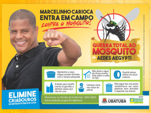 Ubatuba lança operação de combate ao mosquito da dengue no sábado, 28