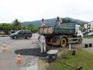 Regional Sul executa serviços de infraestrutura urbana na região