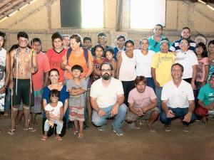 Comissão da Prefeitura reúne-se com lideranças indígenas na Aldeia Boa Vista