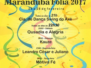 """Maranduba Folia"" agita o carnaval na região sul de Ubatuba"