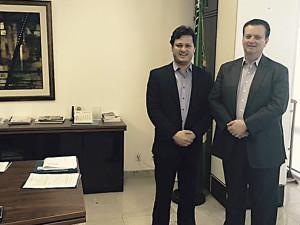 Prefeito Sato cumpre agenda de visitas e audiências em Brasília
