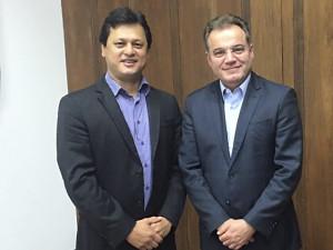 Prefeito Sato encerra agenda em Brasília