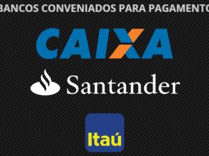 Bancos Conveniados para Pagamento de Tributos e Serviços