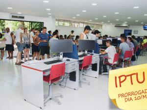 Munícipes têm até sexta-feira para pagamento de IPTU em parcela única com desconto