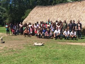 Prefeitura de Ubatuba visita Aldeia Renascer