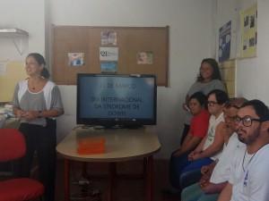 Unir reúne pais e pacientes em evento comemorativo ao Dia Internacional da Síndrome de Down