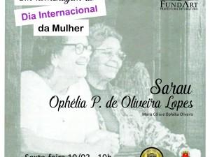 Sarau e apresentação da Banda Lira celebram mulheres de Ubatuba