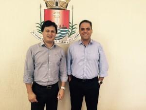 Diretor do Centro de Atividades do Sesi encontra-se com  prefeito de Ubatuba