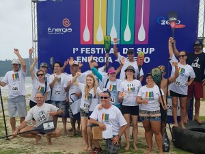 Ubatuba tem segunda etapa do Festival de SUP Energia GZero