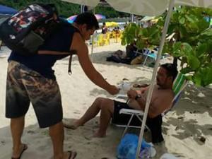 Operação Praia Limpa mobilizou população durante o Carnaval