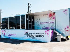 Secretaria de Saúde organiza vinda da carreta da mamografia