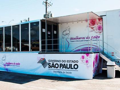 Carreta da Mamografia chega a Ubatuba