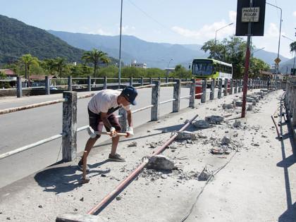Ponte do Perequê Açu é revitalizada