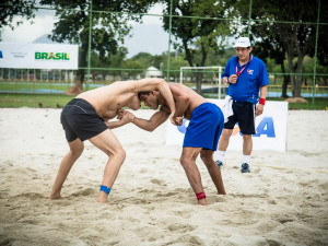 Ubatuba sedia Campeonato Brasileiro de Beach Wrestling