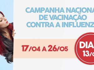 Secretaria de Saúde começa a vacinação contra o vírus da gripe Influenza