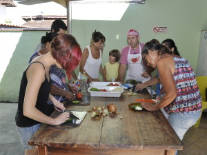 """CREAD de Ubatuba realiza oficinas """"Sabor e diversidade"""""""