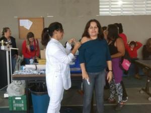 Último dia de vacinação contra gripe Influenza: sexta-feira, 26 de maio