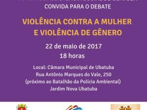 Fórum de Assistência Social de Ubatuba debate violência contra a mulher e de gênero