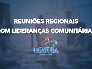 Prefeitura realiza novo ciclo de reuniões comunitárias