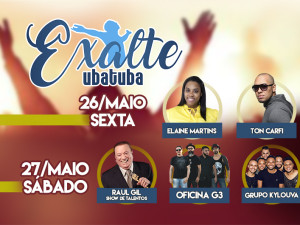 Exalte Ubatuba acontece em maio