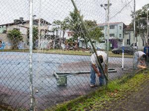 Prefeitura inicia preparação de área para construção de nova unidade de saúde