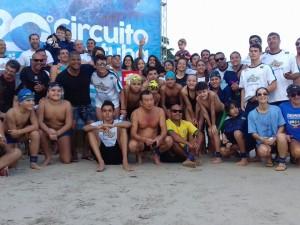 Ubatuba é campeã da segunda etapa da 20ª edição do Circuito Ubatuba de Águas Abertas
