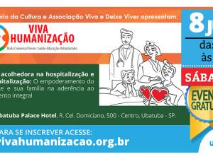 Prefeitura de Ubatuba convida para Fórum de Humanização da Saúde
