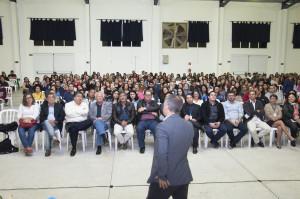 Centro de Convenções lotado na abertura da 19ª Semana da Educação