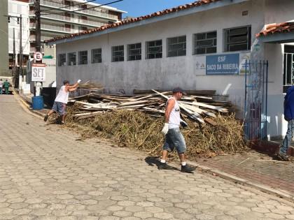 Prefeitura inicia reforma da unidade de saúde do Saco da Ribeira