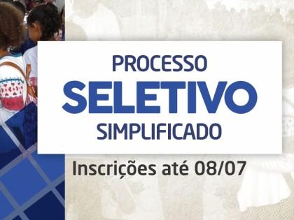 Inscrições para processo seletivo simplificado para merendeiras são prorrogadas